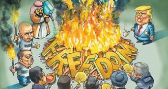 Несвободные территории: оккупированы Россией Крым и Донбасс последние в рейтинге Freedom House