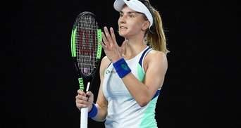 Українська тенісистка Цуренко зачохлила ракетку в першому колі турніру в Дубаї