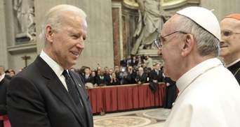 Байден прокомментировал визит Папы Римского в Ирак: назвал историческим и желанным