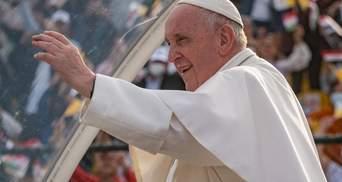 Жінки завжди були відважніші від чоловіків, – Папа Римський