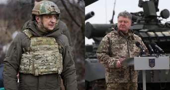 Зеленский VS Порошенко: когда закончится борьба между двумя президентами