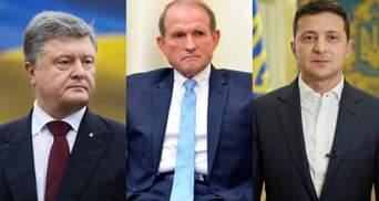 Санкції проти Медведчука підкреслили протистояння між Зеленським і Порошенком, – Казарін