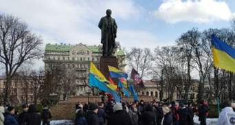 У Києві пройшла щорічна акція солідарності з окупованим Кримом: фото, відео