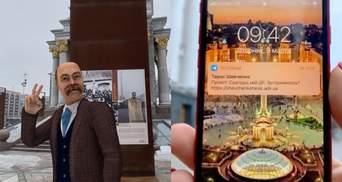 """Компанія ADVIN Ukraine """"оживила"""" Шевченка у віртуальному світі: як з ним поспілкуватися – відео"""
