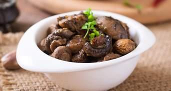 Пісні страви з грибами: домашні рецепти