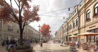 В Киеве показали как будет выглядеть улица Сагайдачного после реконструкции: фото