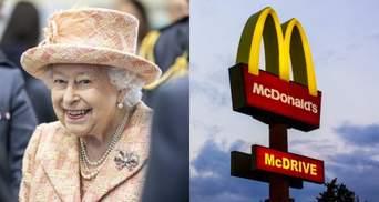 """""""Королевские"""" бургеры: Елизавета II владеет франшизой McDonald's"""