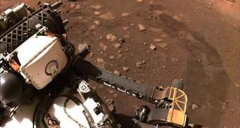 Perseverance записав клацання лазера по камінню на Марсі