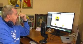 Покинув Московський патріархат: священник з Луганщини записує відеоблоги