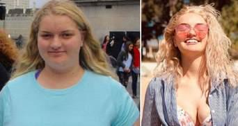 Дівчина скинула 63 кілограми й виглядає як модель: від чого вона відмовилась