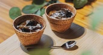 У Японії випустили їстівні чашки: мета – скоротити використання пластику