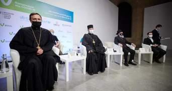 Украинских религиозных лидеров прививали от COVID-19