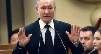"""В Кремле отреагировали на заявление Байдена о """"Путине-убийце"""""""
