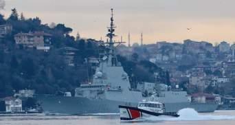 У Чорне море зайшов фрегат НАТО: за ним слідом йшов російський ракетний корабель
