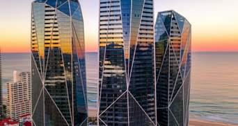 Кришталеві кварцові вежі: дивовижний проєкт хмарочосів в Австралії