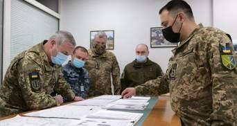 У ЗСУ проводять тренування штабів для відсічі ворога: фото