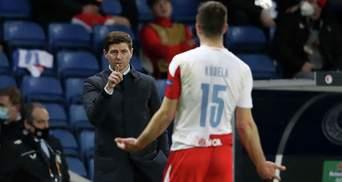 Футболіста Славії звинуватили в расизмі і побили після матчу Ліги Європи