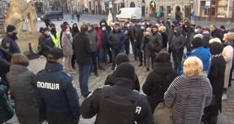 """Работники """"Південного"""" пикетировали Львовский горсовет: каковы их требования"""