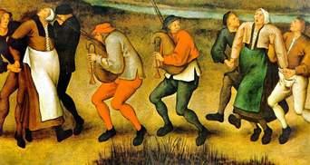 Танцювальна чума в Середньовіччі: невідома хвороба, яка змушувала людей танцювати до смерті