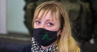 Ветерану АТО Виктории Котеленец изменили меру пресечения