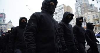 Для провокацій активістів: біля Хрещатика помітили тітушок перед акцією за Стерненка – відео