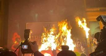Хочуть крові, – у МВС відреагували на протести через Стерненка