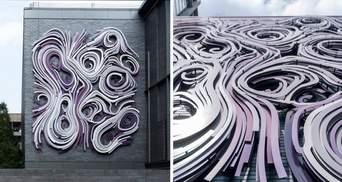 Художня інсталяція: фото унікального фасаду будівлі в штаті Джорджія