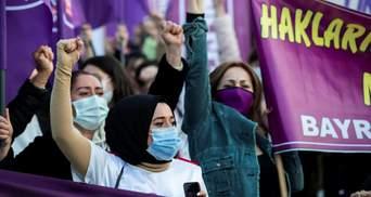Туреччина вийшла зі Стамбульської конвенції: країною прокотилася хвиля протестів – фото