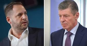 За жодних умов: Україна не погоджується на нові пропозиції Козака щодо Донбасу