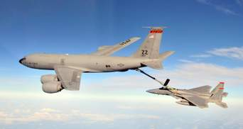 Над Чорним морем зафіксували 3 військові літаки США: там тривають навчання НАТО