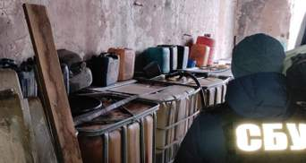 СБУ викрила підпільне виробництво пального на Кіровоградщині