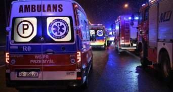 Поломаны конечности и ушиб головы: каково состояние пострадавших в ДТП в Польше