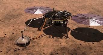 Зонд InSight виміряв розміри ядра Марса