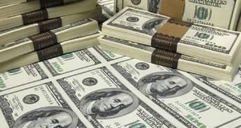 Внешний долг Украины превысил уровень 2015 года и составляет 125 миллиардов долларов