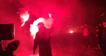 """В МВД показали """"доказательства"""", что акция под ОПУ не планировалась мирной: видео"""
