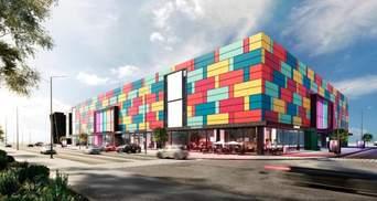 Яркое перерождение: удивительная реконструкция торгового центра в Киеве