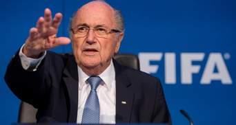 Експрезидент ФІФА Блаттер відсторонений від футбольної діяльності майже на 7 років