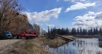 Тала вода затопила село на Рівненщині: фото
