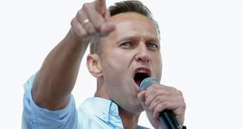 У штабі Навального відмовились змінити мапу з окупованим Кримом у складі Росії