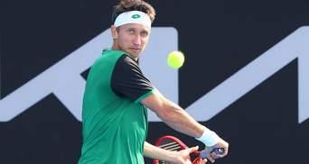 Украинец Сачко неожиданно выбил земляка Стаховского из 1/8 финала в Швейцарии