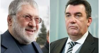 Данилов объяснил, почему СНБО не реагирует на санкции США против Коломойского