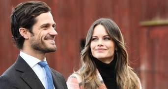 Принц Швеции Карл Филипп и принцесса София в третий раз стали родителями