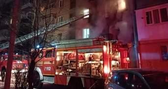 В Івано-Франківську сталась пожежа у 5-поверхівці: є загиблий