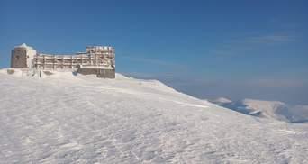 У Карпатах можливі лавини, а гора Піп Іван – засніжена і морозна