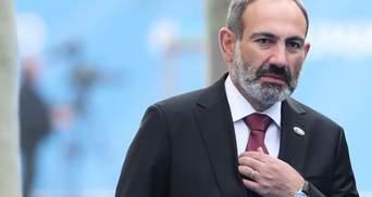 Вірменський прем'єр Пашинян заявив, що подасть у відставку