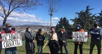 Столиця Грузії перебуває під загрозою великого зсуву ґрунту: люди вийшли на протест
