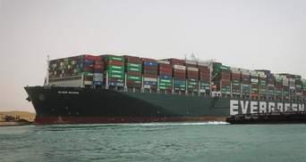 Зняти судно Ever Given з мілини в Суецькому каналі допоміг повний Місяць