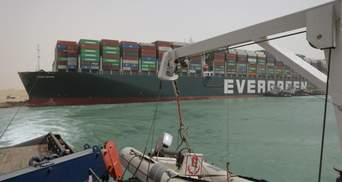 Аварія Ever Given в Суецькому каналі: коли ліквідують затор суден