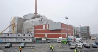 В Финляндии завершают строительство крупнейшего атомного реактора в Европе