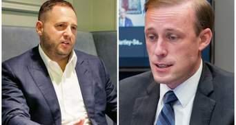 США могли б зіграти активнішу роль щодо миру на Донбасі, – Єрмак поговорив з радником Байдена